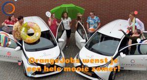 OrangeJobs wenst je een hele mooie zomer!